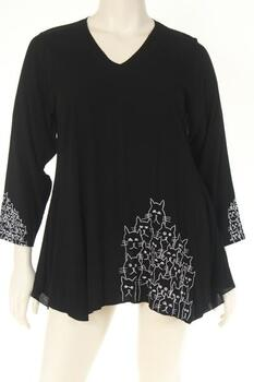 DN1722cat Blouse