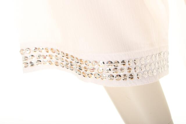 AC1745Q Blouse with sequins